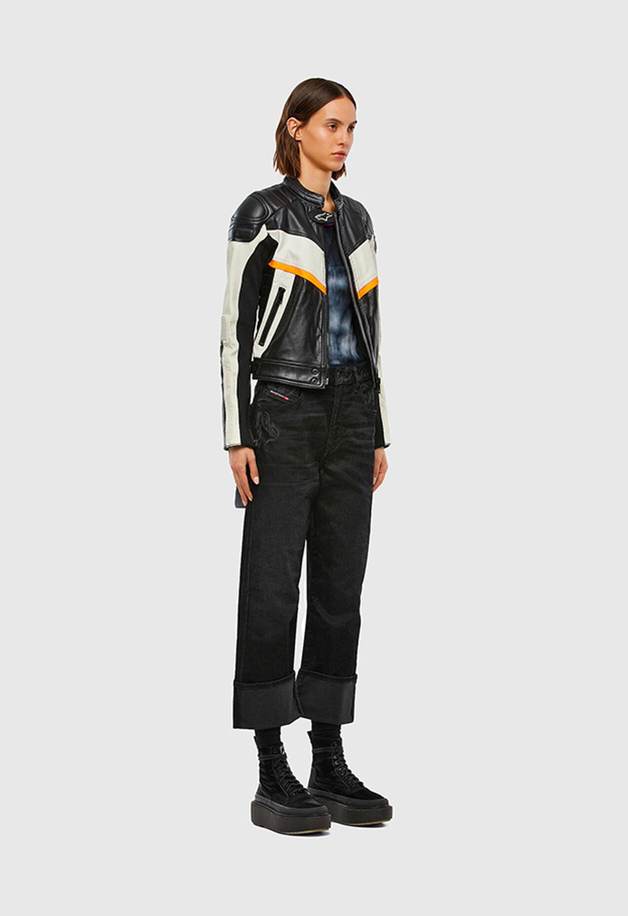 D-Reggy 009LC, Black/Dark grey - Jeans