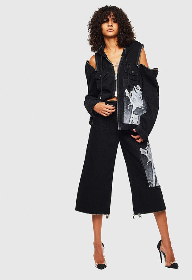 DE-VYSE-SX, Black - Denim Jackets