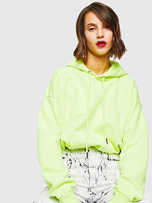 S-ALBY-FLUO, Yellow Fluo - Sweaters