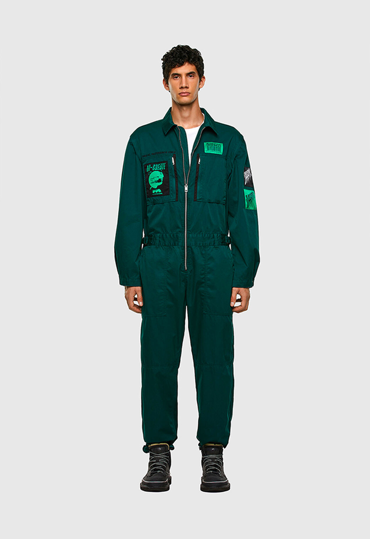 P-LARRY, Dark Green - Pants