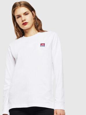 T-DIEGO-DIV-LS, White - T-Shirts