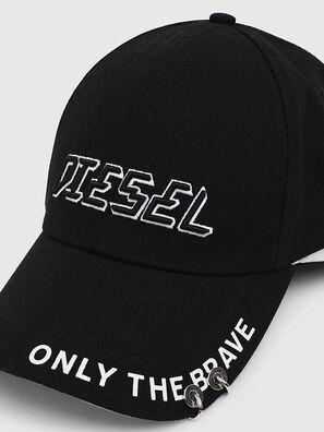 CEDOUBLE, Black/White - Caps