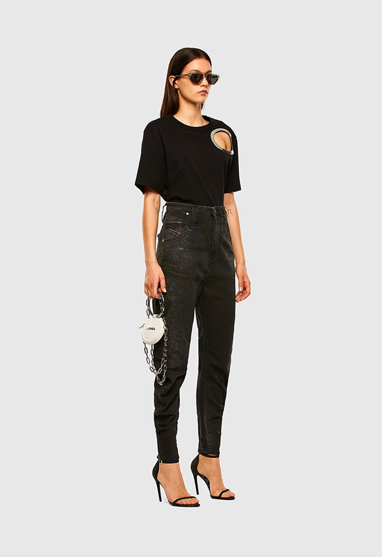D-Plata JoggJeans 009DS, Black/Dark grey - Jeans