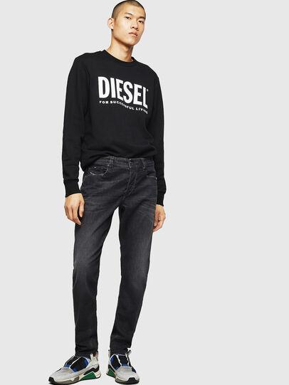 Diesel - Larkee-Beex 082AS, Black/Dark grey - Jeans - Image 5