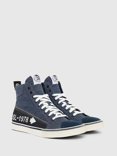 Diesel - S-DVELOWS MID, Blue Jeans - Sneakers - Image 2