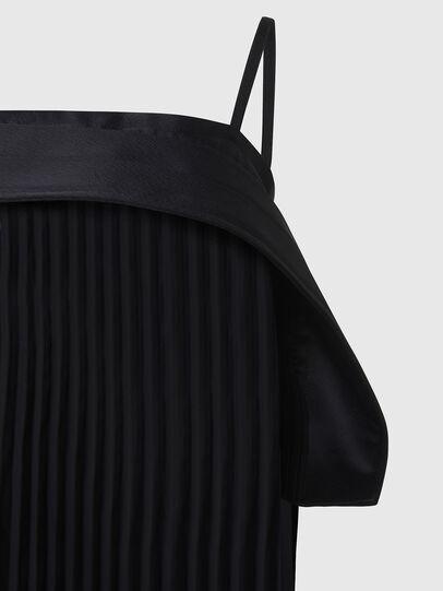 Diesel - D-PERL, Black - Dresses - Image 4