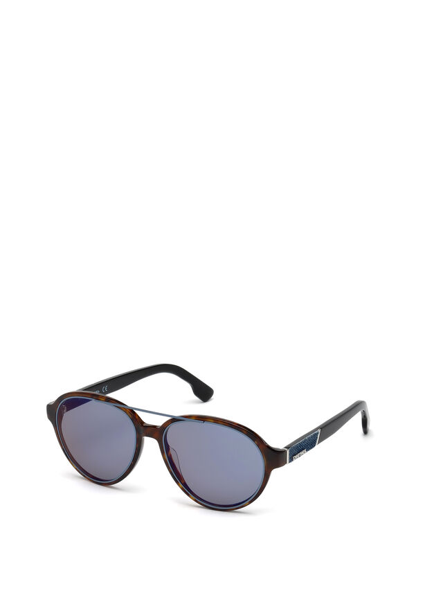 Diesel DL0214, Brown - Eyewear - Image 4
