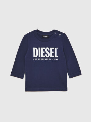 TJUSTLOGOB ML, Dark Blue - T-shirts and Tops