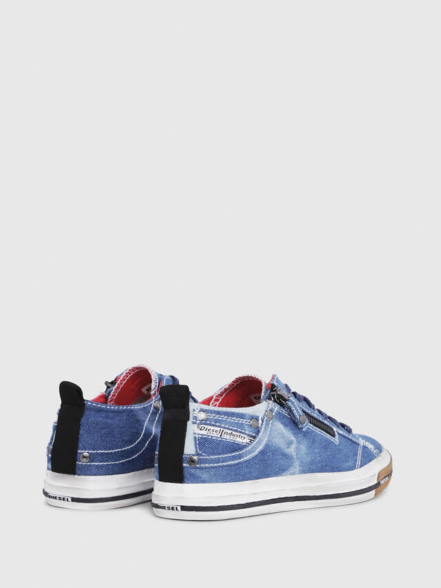 Diesel - EXPO-ZIP LOW W, Blue Jeans - Sneakers - Image 3