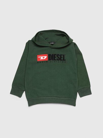 Diesel - SDIVISION OVER, Dark Green - Sweaters - Image 1