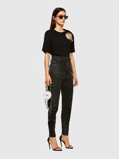 Diesel - D-Plata JoggJeans® 009DS, Black/Dark grey - Jeans - Image 5