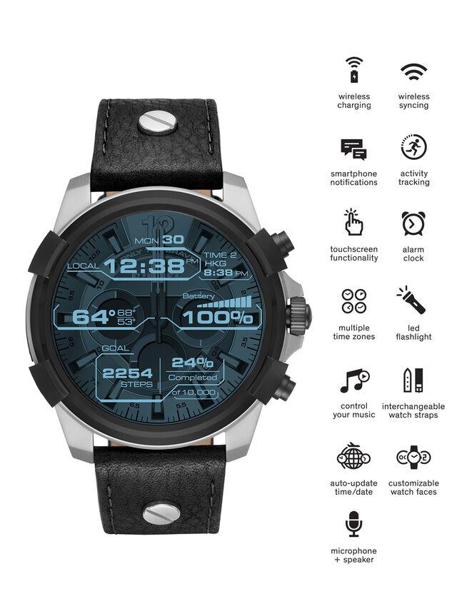 Diesel - DT2001, Black - Smartwatches - Image 1