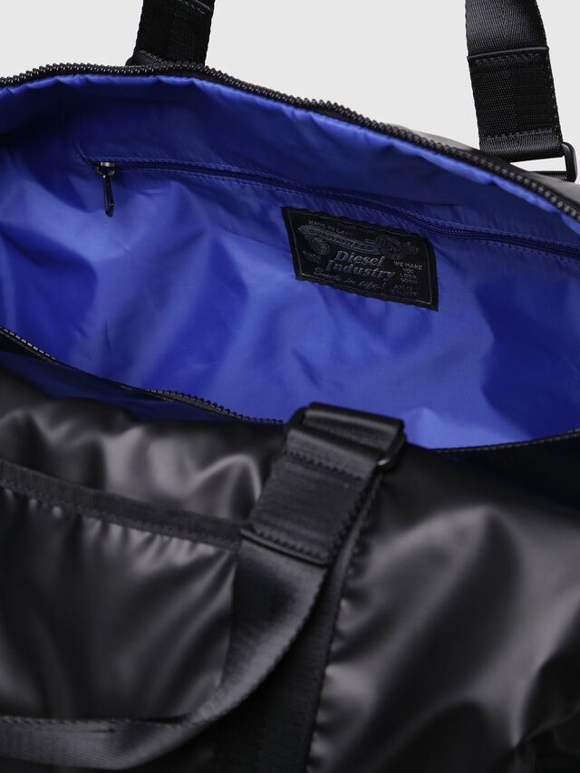 Diesel - F-DISCOVER DUFFLE, Black/Blue - Travel Bags - Image 5