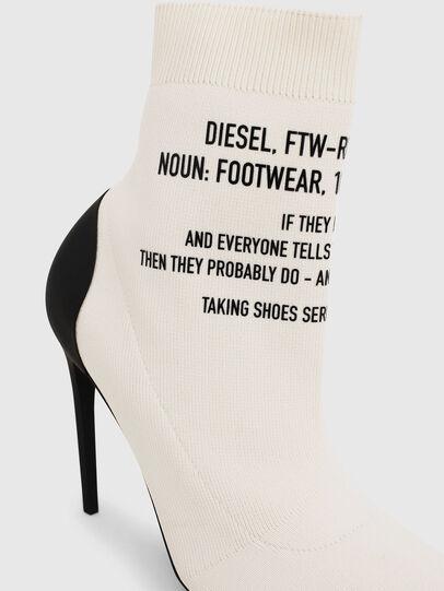 Diesel - D-SLANTY HAB, White - Ankle Boots - Image 4
