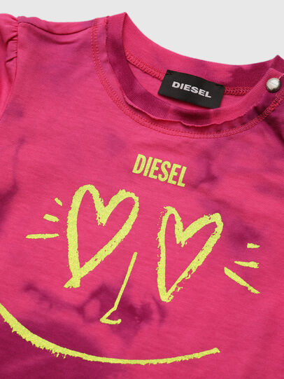 Diesel - TINTDB, Pink - T-shirts and Tops - Image 3