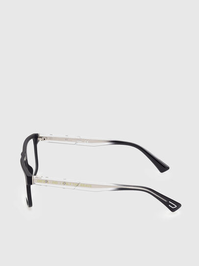 Diesel - DL5406, Black/White - Eyeglasses - Image 3