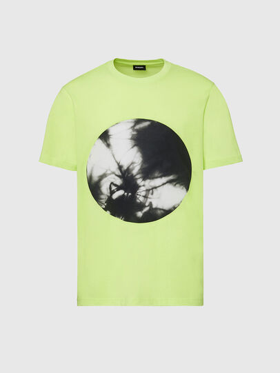 Diesel - T-MOONY-X2, Green Fluo - T-Shirts - Image 1