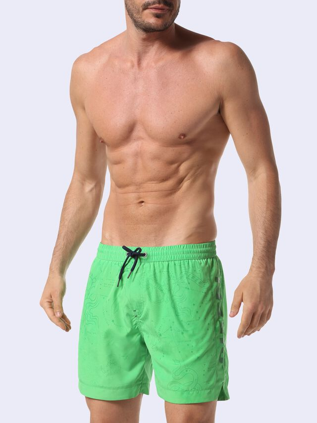 Diesel - BMBX-WAVE-S 2.017, Green Fluo - Boxers - Image 3