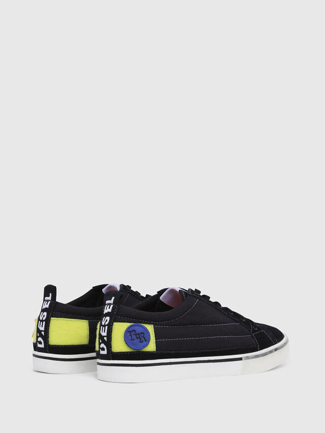 Diesel - D-VELOWS LOW PATCH, Black - Sneakers - Image 3