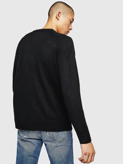 Diesel - K-CV-XMAX, Black - Knitwear - Image 2