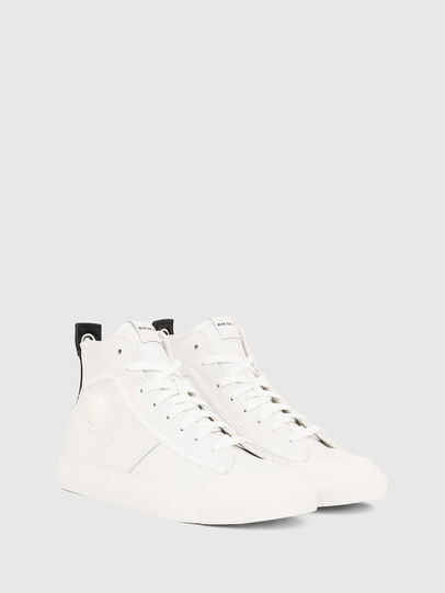 Diesel - S-ASTICO MID LACE, White - Sneakers - Image 2