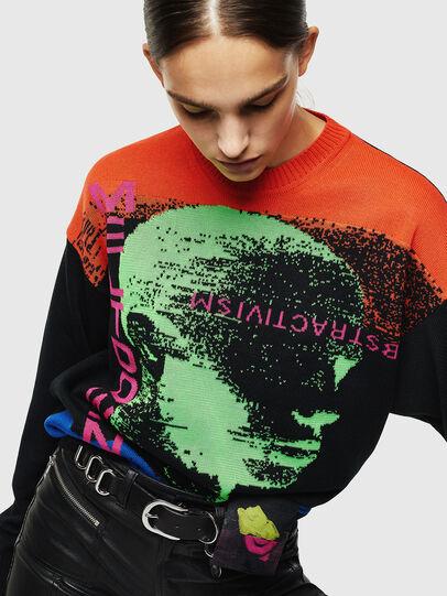 Diesel - K-MELTER, Multicolor/Black - Knitwear - Image 6
