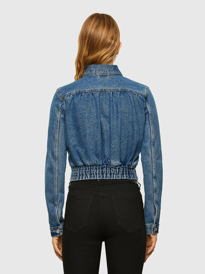 Diesel - DE-NINO, Medium blue - Denim Jackets - Image 2