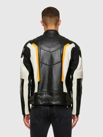Diesel - ASTARS-LDUE-B, Black - Leather jackets - Image 2
