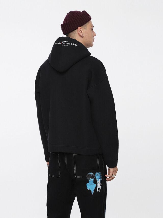 Diesel - S-GORDON, Black - Sweaters - Image 2