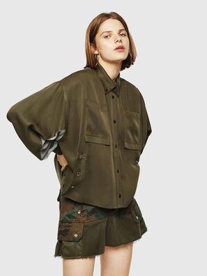 C-LEXYS, Military Green - Shirts