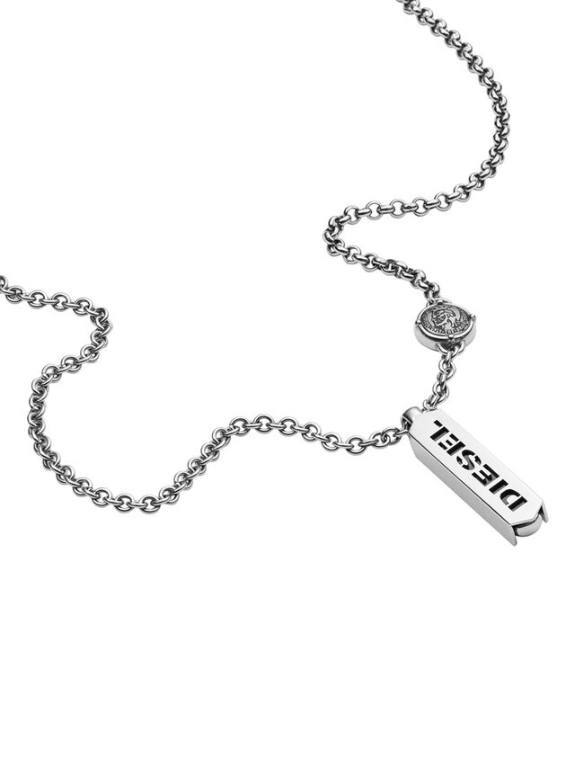 Diesel NECKLACE DX0997, Silver - Necklaces - Image 2