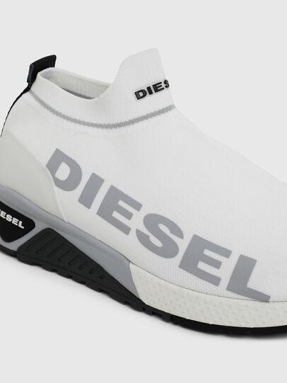 Diesel - S-KB ATHL SOCK II, White - Sneakers - Image 4