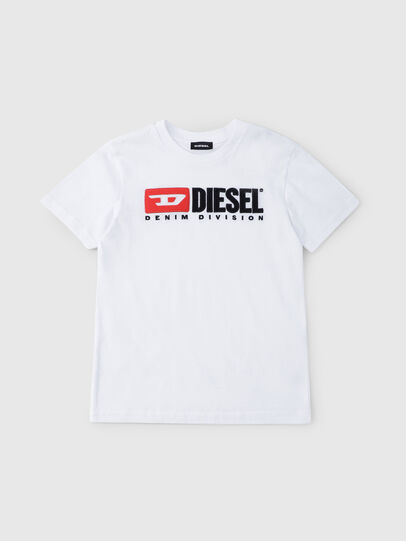 Diesel - TJUSTDIVISION, White - T-shirts and Tops - Image 1