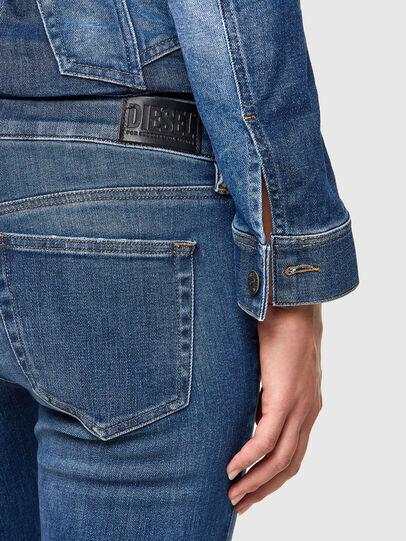 Diesel - Slandy Low 009PU, Medium blue - Jeans - Image 5