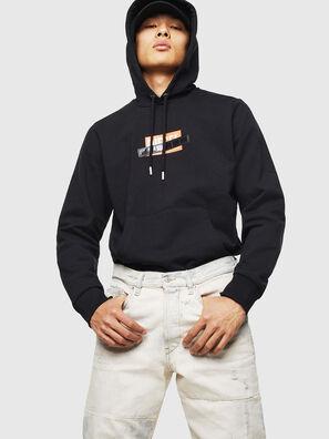S-GIRK-HOOD-S1, Black - Sweaters