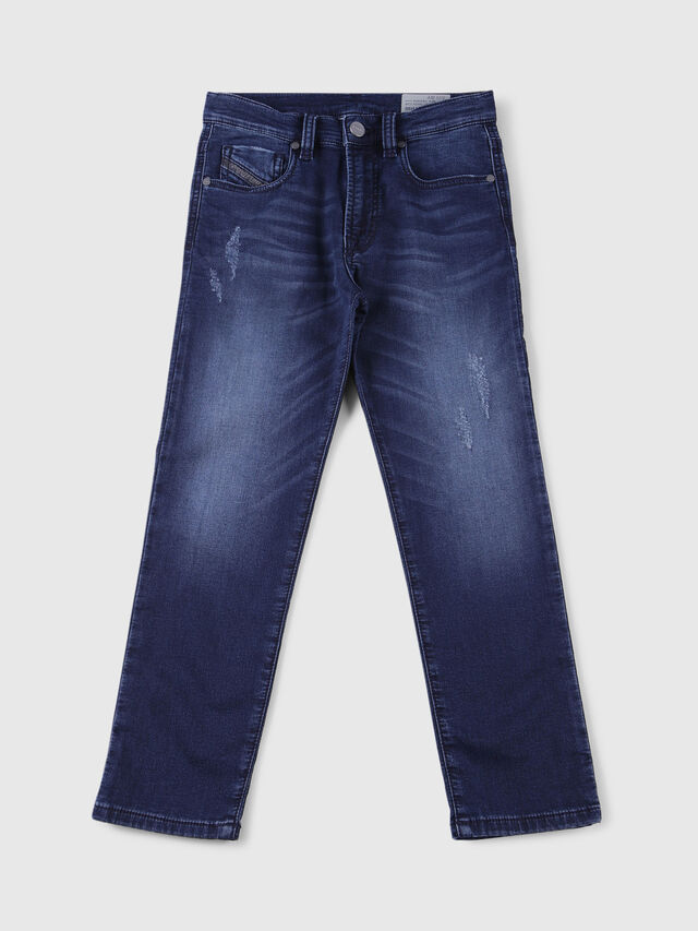 Diesel - MHARKY-J JOGGJEANS, Dark Blue - Jeans - Image 1