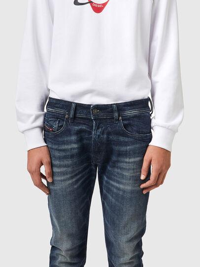 Diesel - Sleenker 069XD, Dark Blue - Jeans - Image 3