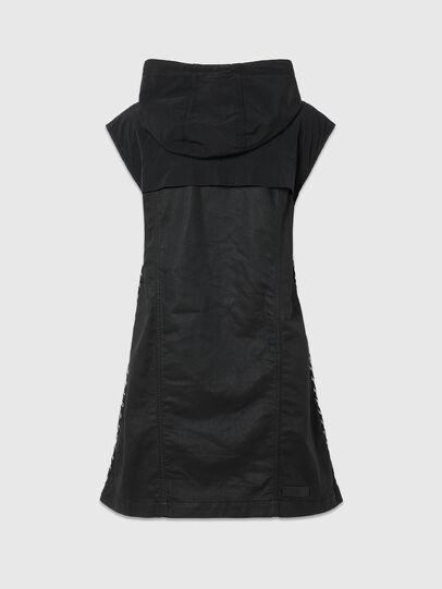Diesel - D-JANA JOGGJEANS, Black/Dark grey - Dresses - Image 2
