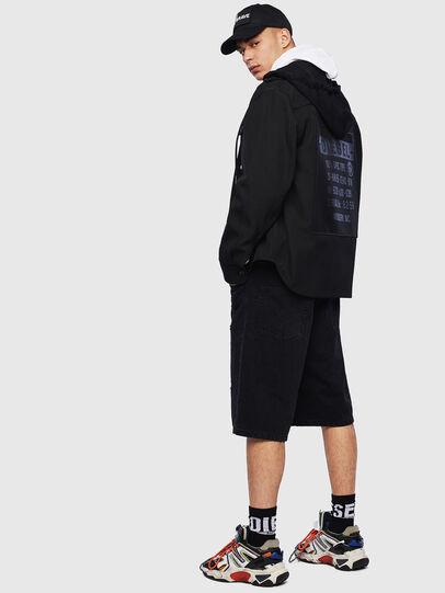 Diesel - J-JESSY-HOOD, Black - Jackets - Image 8