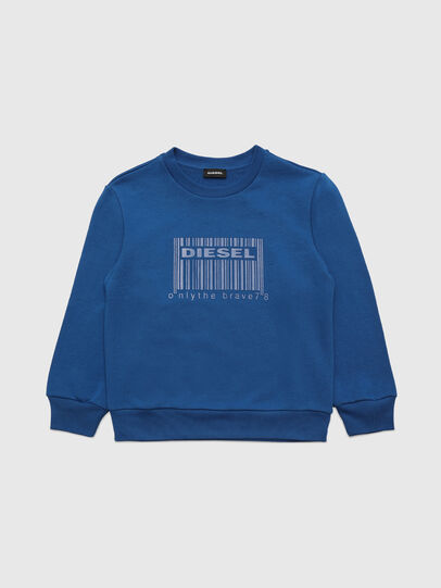 Diesel - SCOLIGCODE OVER, Blue - Sweaters - Image 1