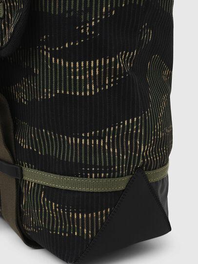 Diesel - VOLPAGO BACK, Green/Black - Backpacks - Image 5