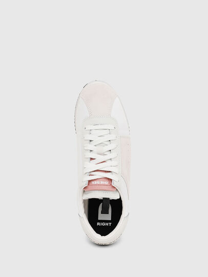 Diesel - S-PYAVE WEDGE, White/Pink - Sneakers - Image 5