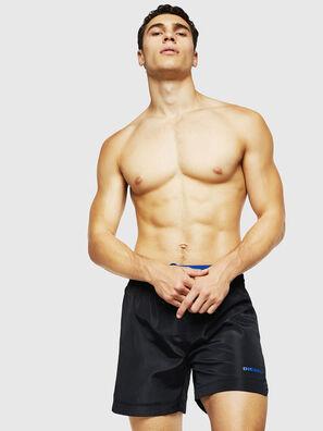 BMBX-DOLPHIN, Black - Swim shorts