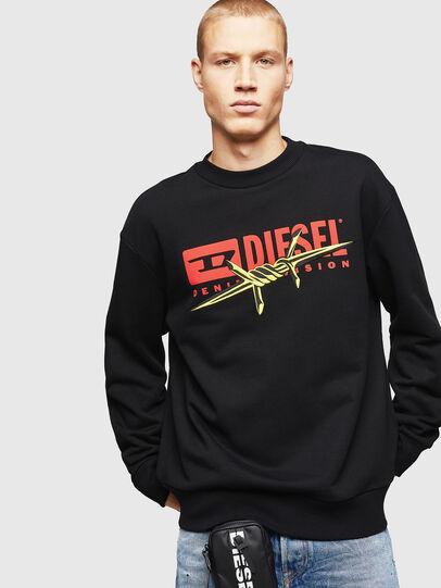 Diesel - S-BAY-BX5, Black - Sweaters - Image 1
