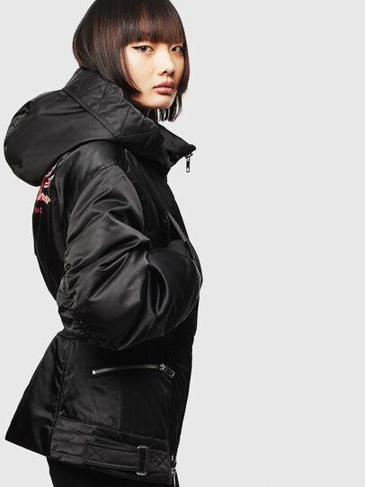 Diesel - CL-W-ISOKE-A-LITM, Black - Winter Jackets - Image 5