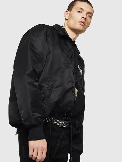 Diesel - J-AKIO-A, Black - Jackets - Image 5