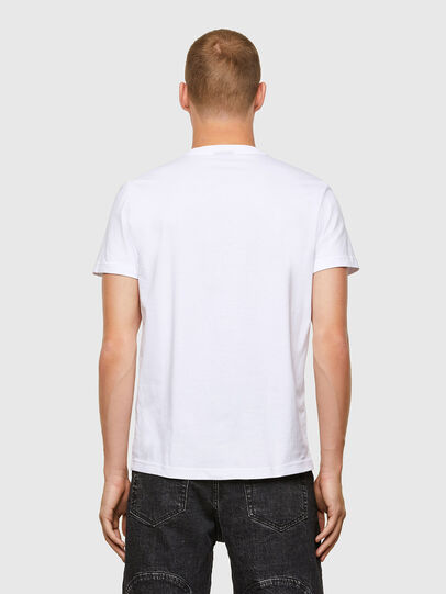 Diesel - T-DIEGOS-A3, White - T-Shirts - Image 2