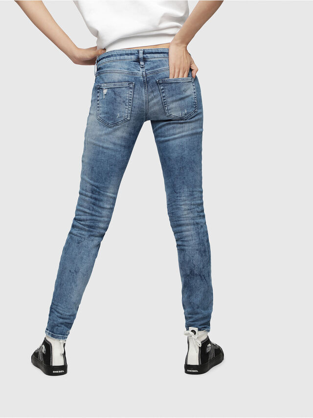 Diesel - Gracey JoggJeans 080AS, Medium blue - Jeans - Image 2