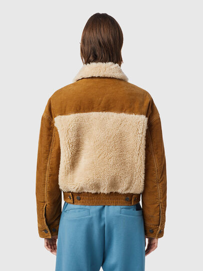 Diesel - W-ARY, Light Brown - Winter Jackets - Image 2