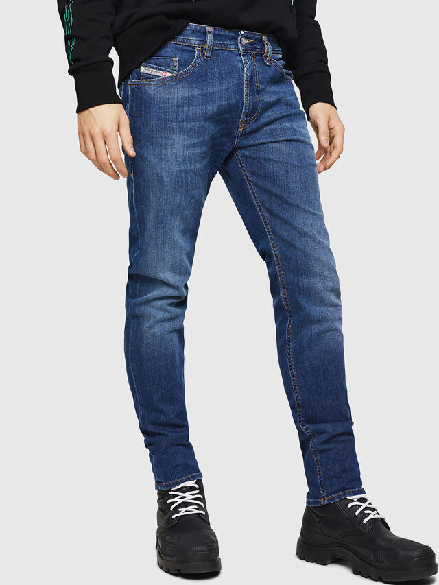Diesel - Thommer 082AZ, Dark Blue - Jeans - Image 1